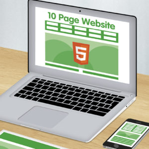 10 page HTML 5 website design