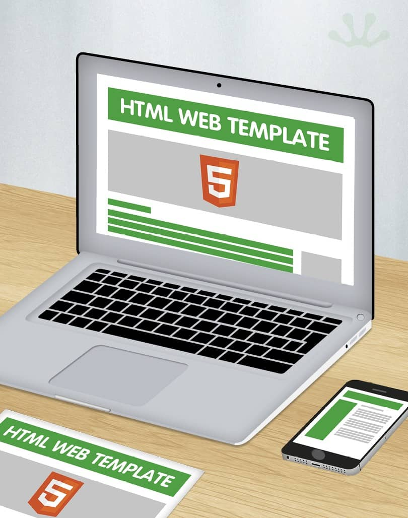 HTML 5 Website template