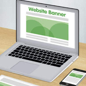 Website banner design