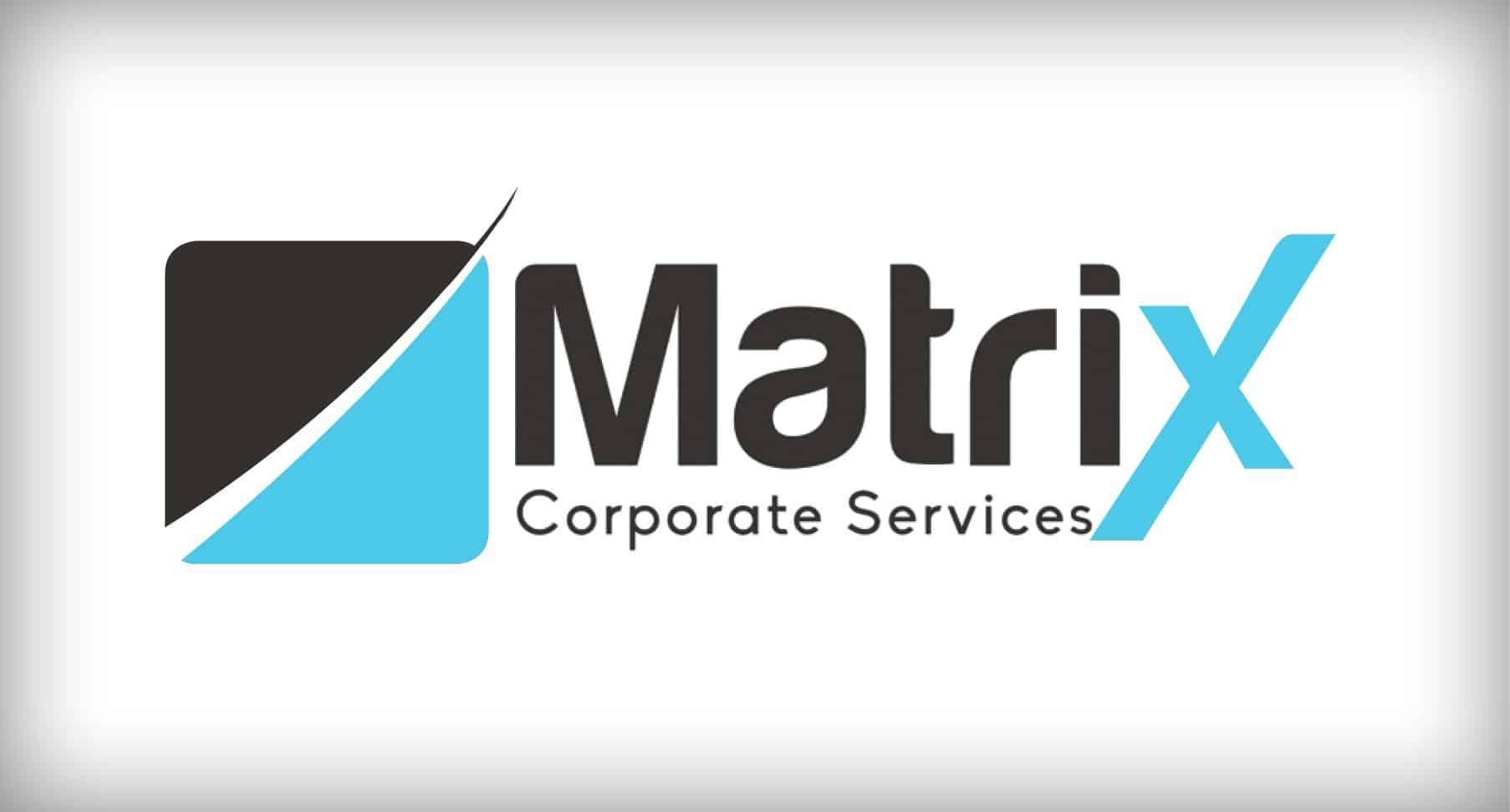 corporate logo design professional matrix corporate services