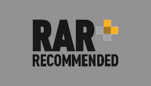 RAR+ Recommended agency logo