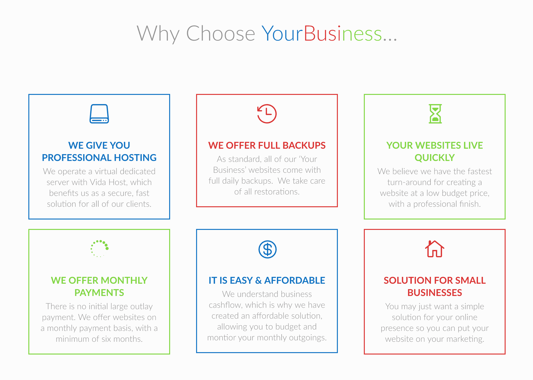 6 reasons to Choose Your Business