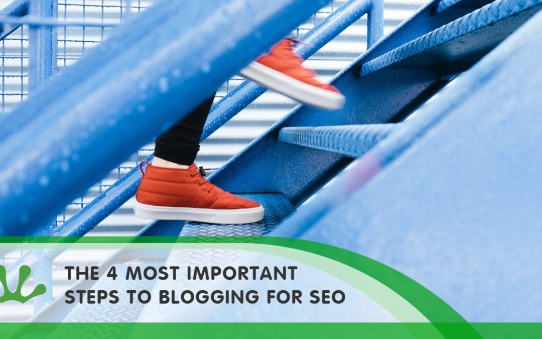THE 4 MOST IMPORTANT STEPS TO BLOGGING FOR SEO