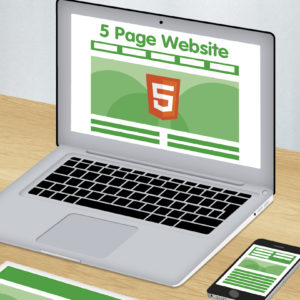 5 page HTML 5 website design