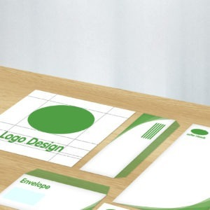 Corporate Identity package including logo design, envelopes, business cards and letter heads