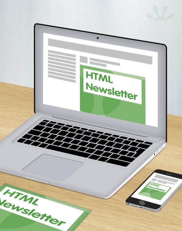 HTML Newsletter design
