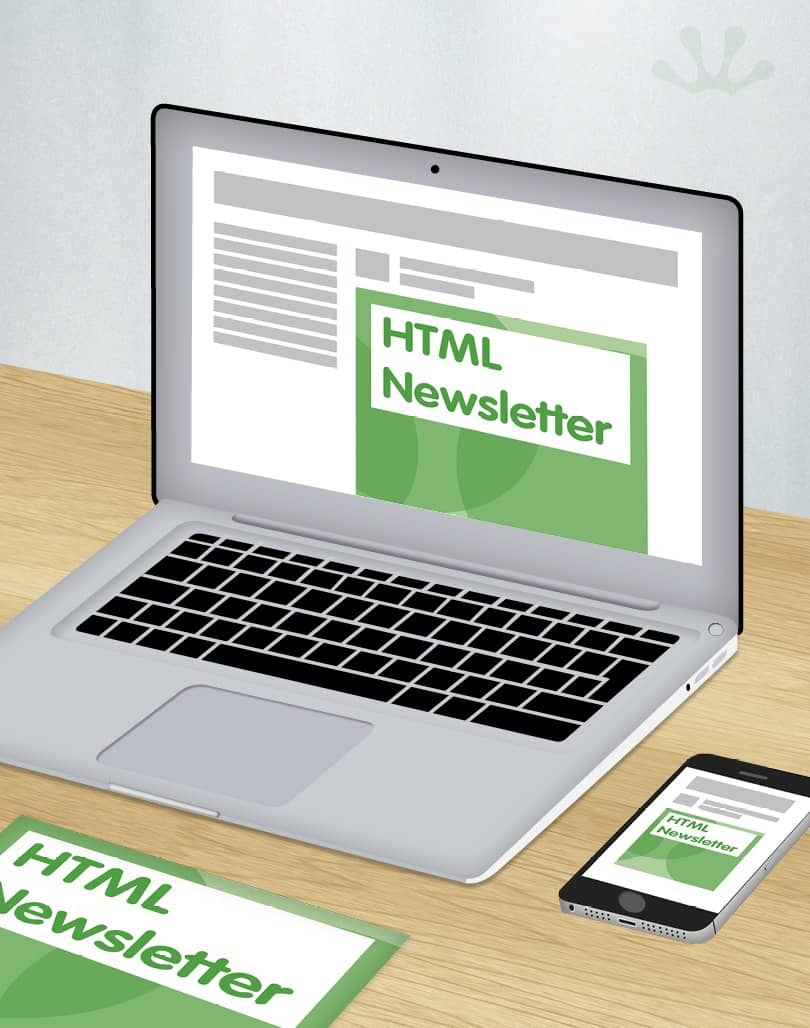 HTML Newsletter design
