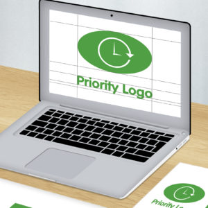 Priority Logo design