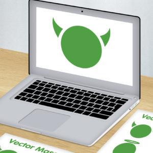 Vector mascot design
