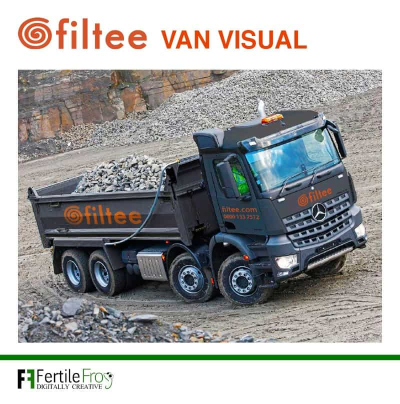 Filtee company vehicle graphics