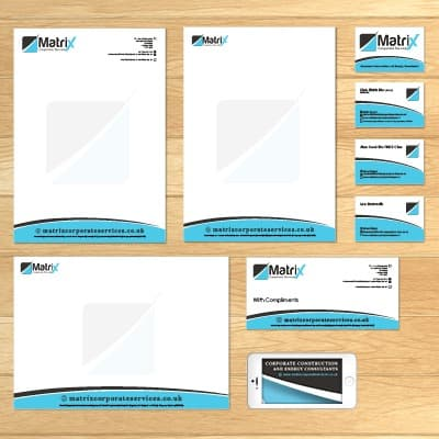 Business stationery image