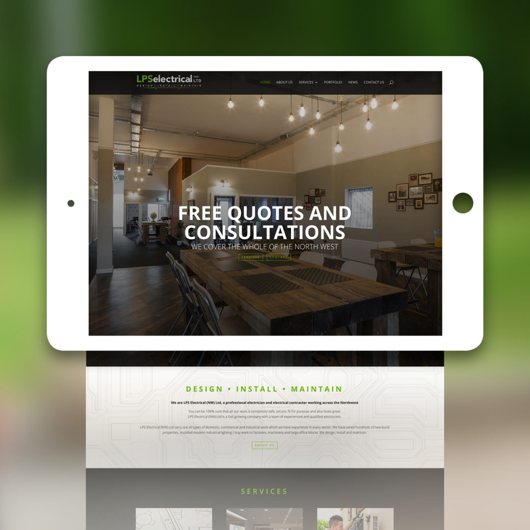 Electrical Contractor Web Build