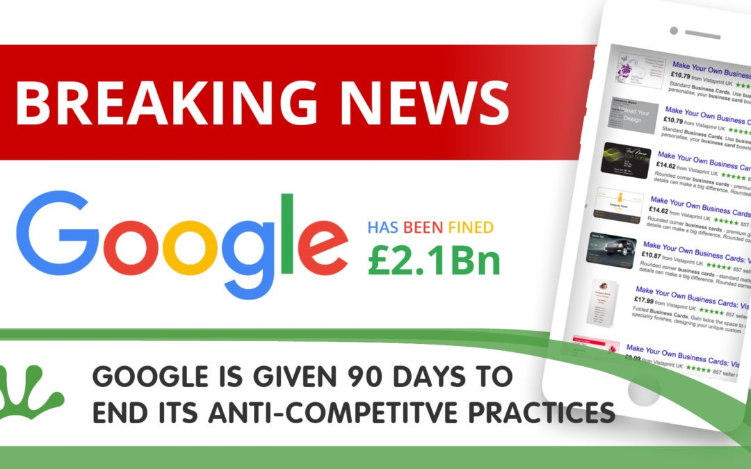 Google is Given 90 Days to End its Anti-Competitve Practices
