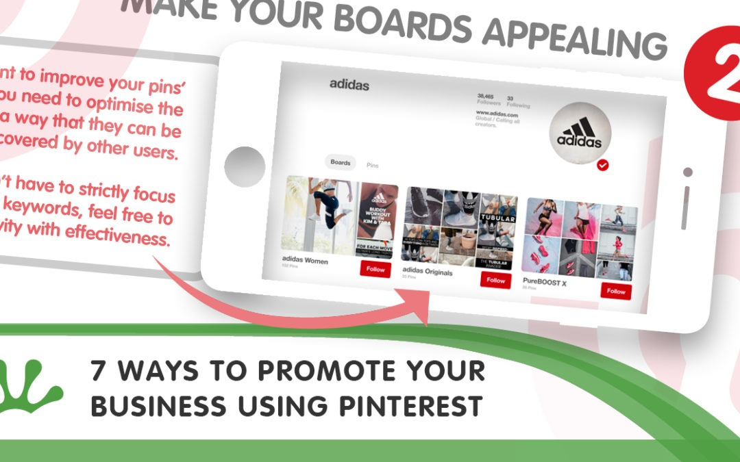 7 Ways To Promote Your Business Using Pinterest INFOGRAPHIC