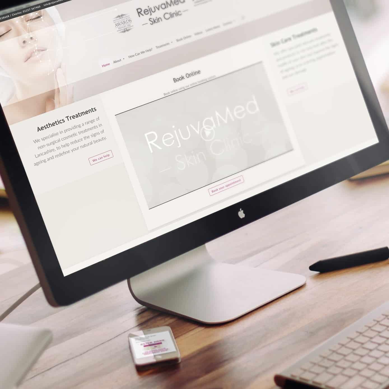 Rejuvamed website build