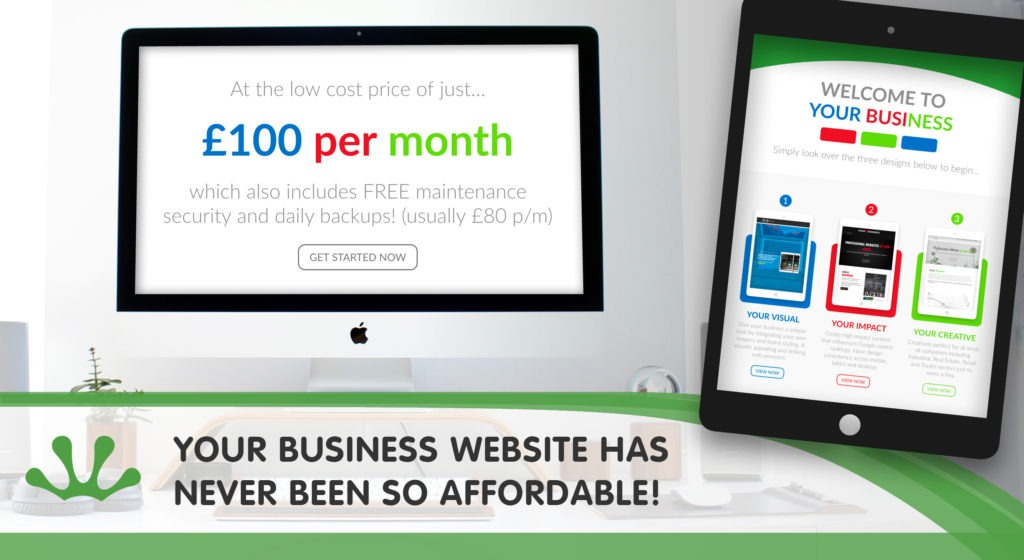 Your Business Website Has Never Been So Affordable blog image