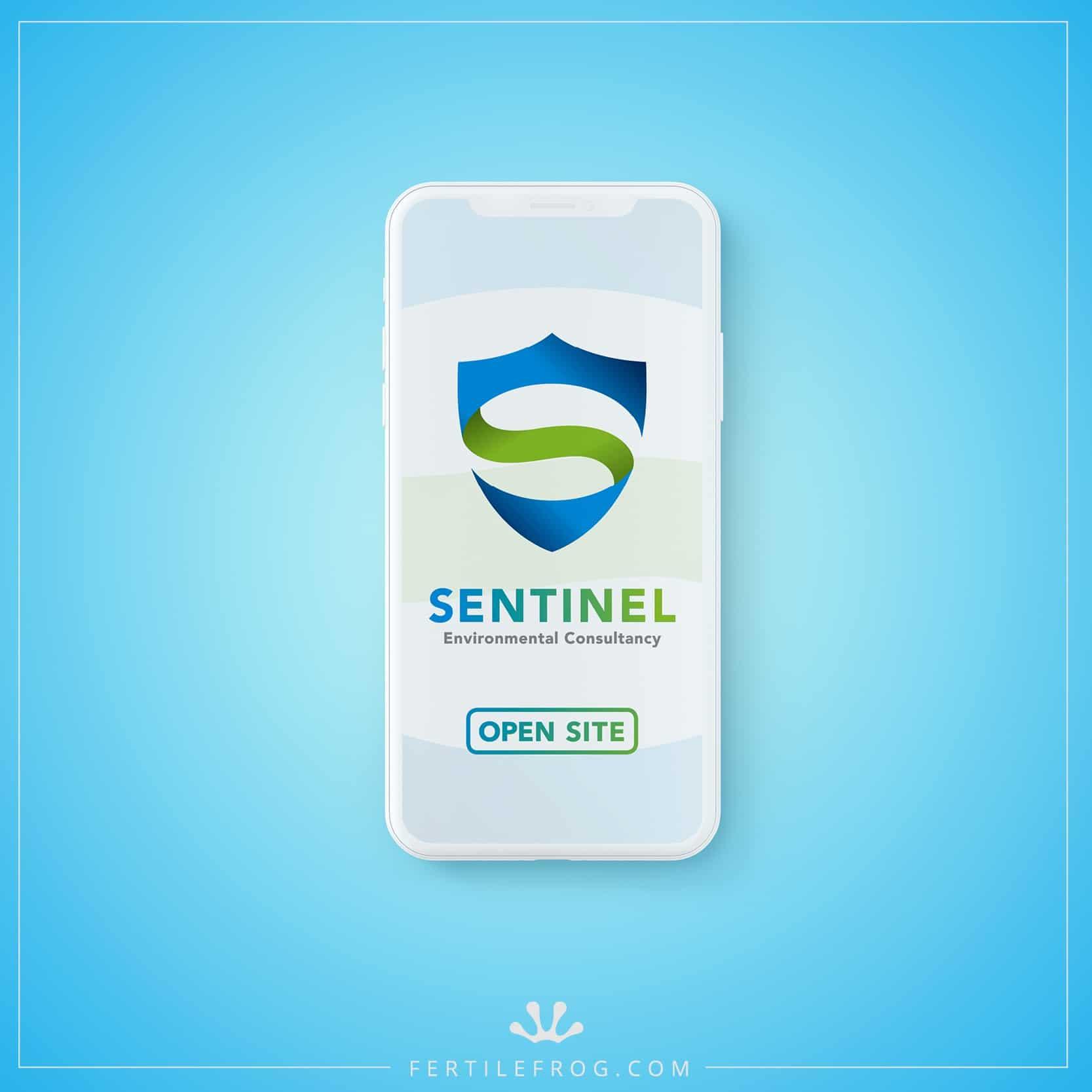 Sentinel website on Iphone X