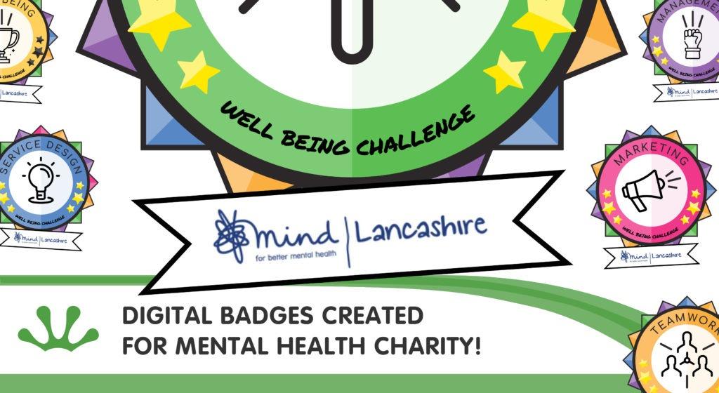 Digital Badges - Lancashire Mind blog image