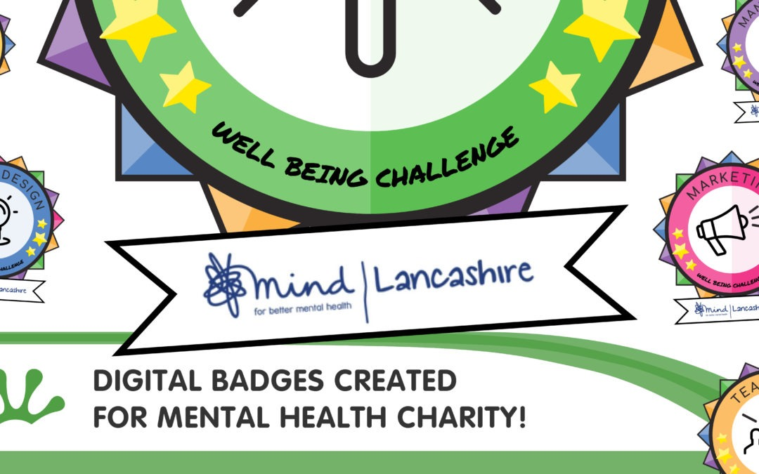 Digital Badges created for Mental Health Charity