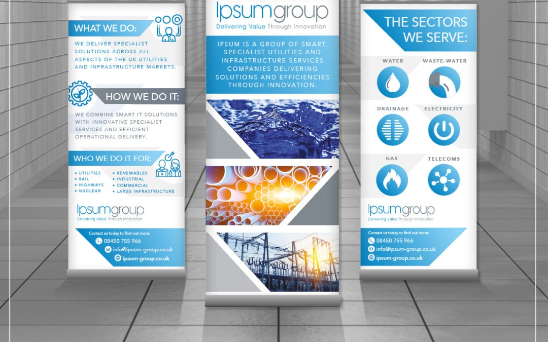Utility Services Roller Banners