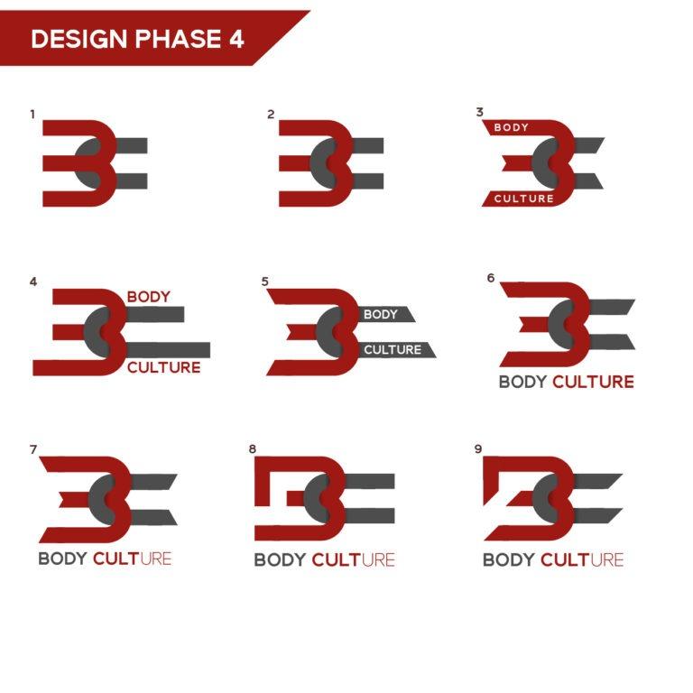 gym branding design phase four