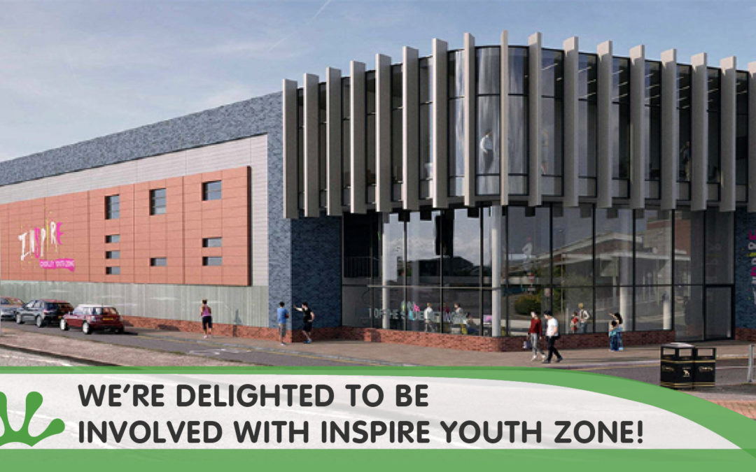 We're Delighted To Be Involved With Inspire Youth Zone!