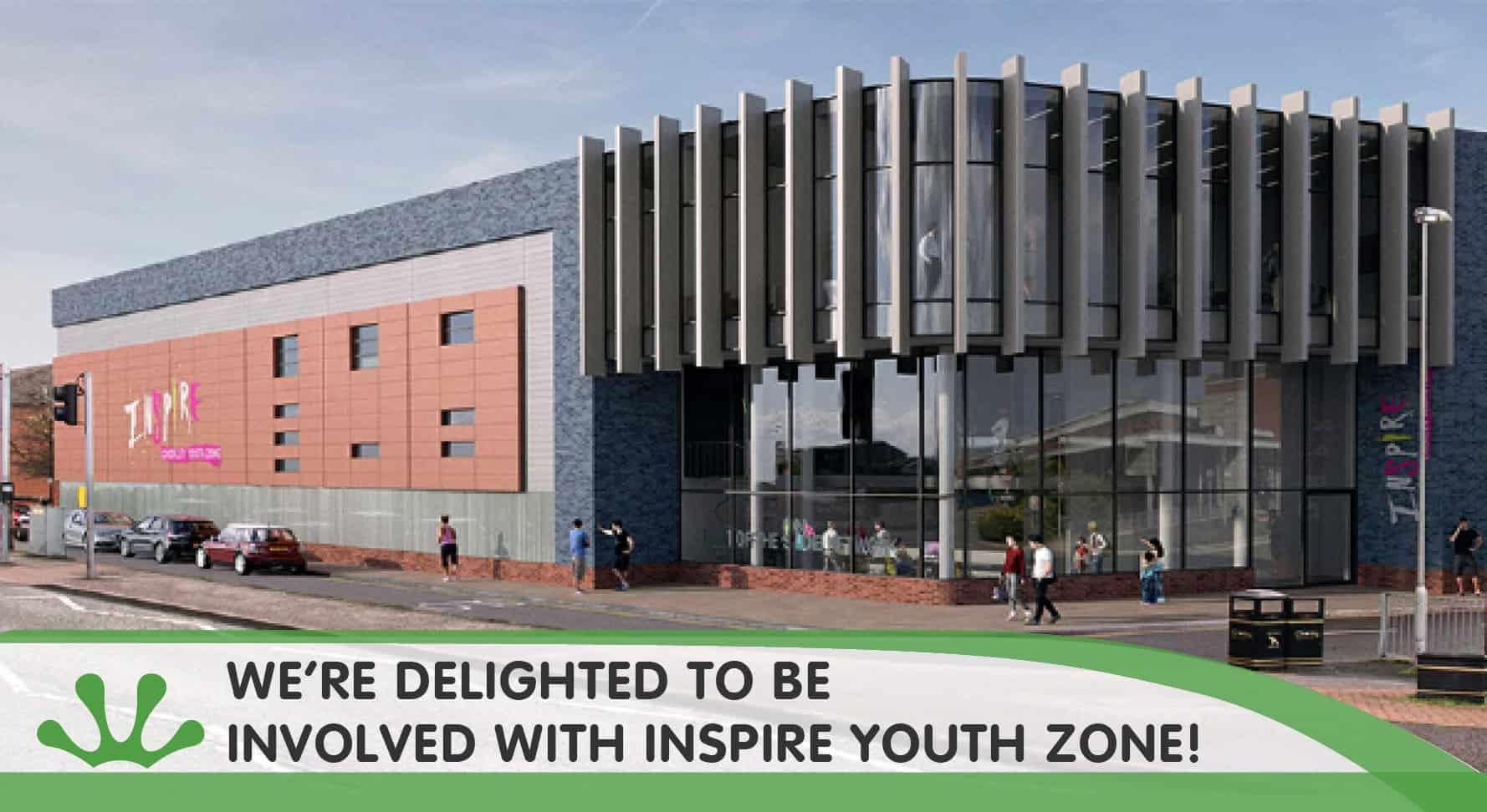 Chorley Youth Zone inspire blog image