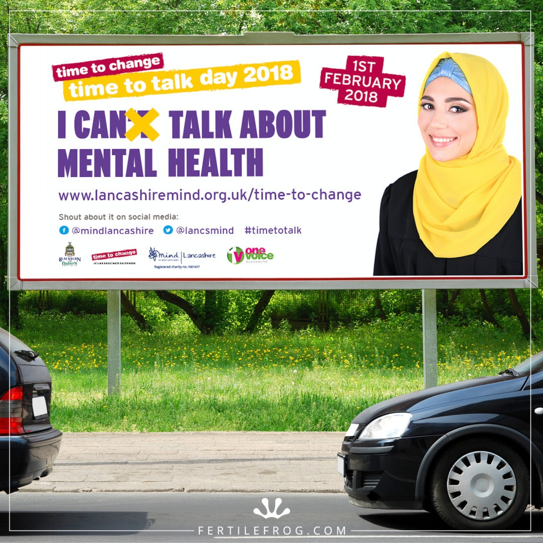 Mental Health Charity Billboard Advertisement