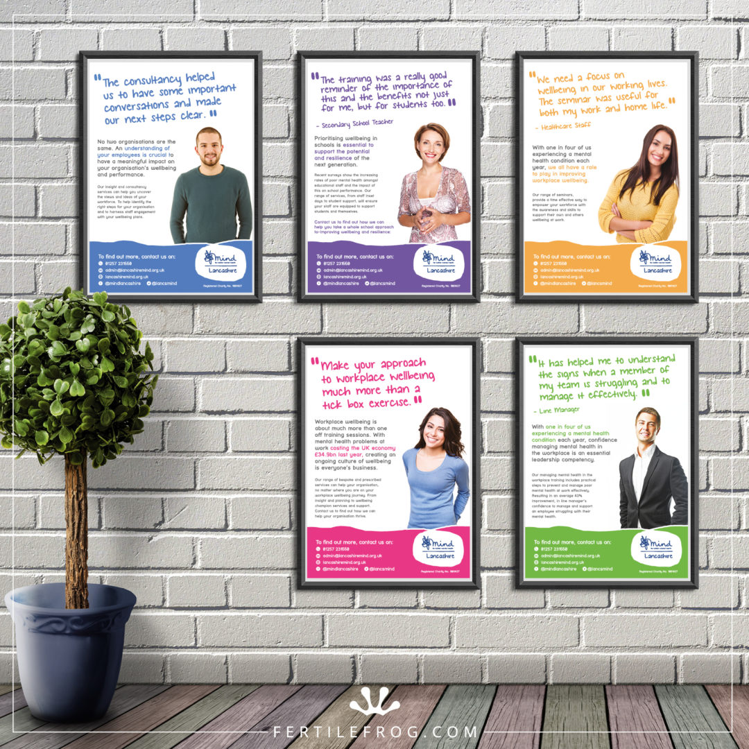Mental Health Charity Posters