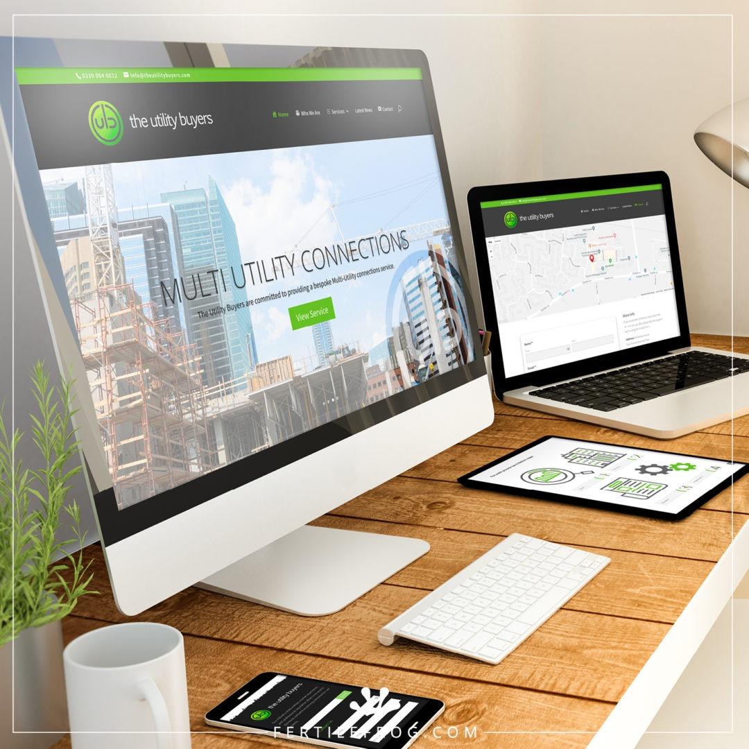 Utility Services Website Build