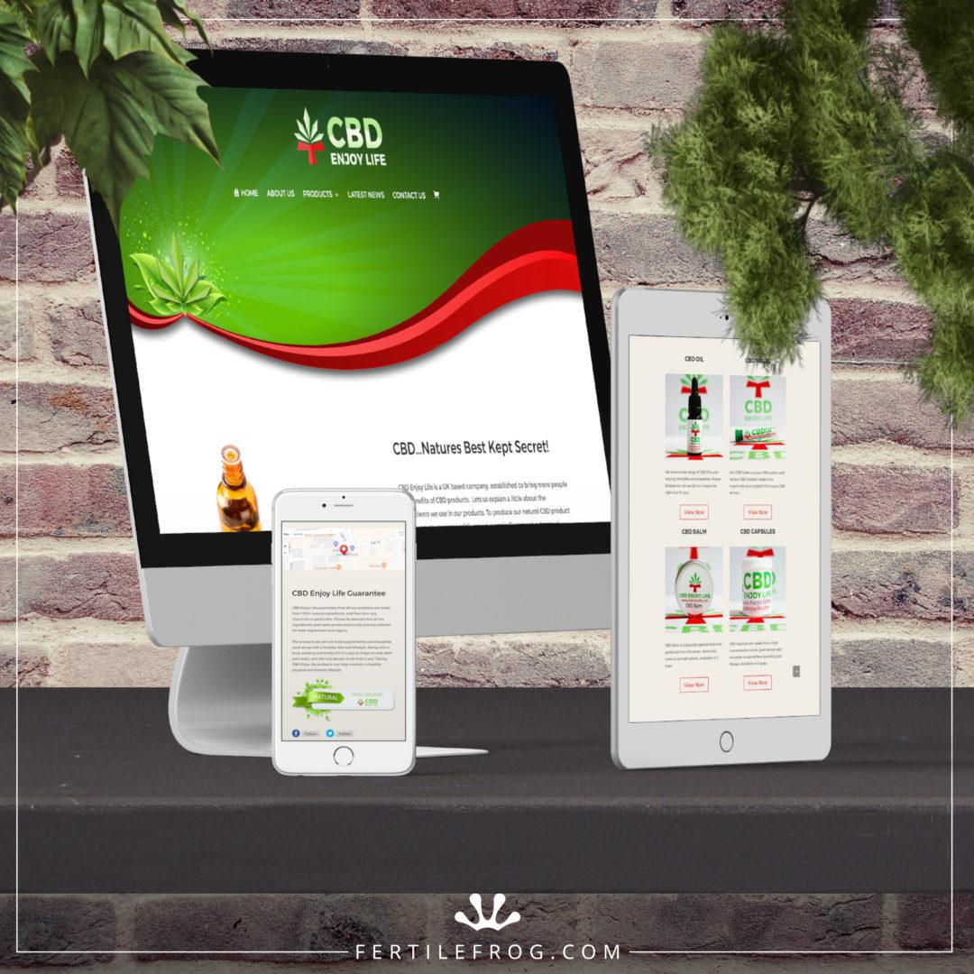 CBD Products Website Build