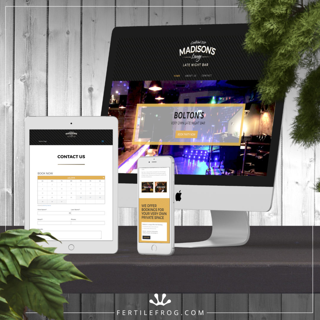 Late Night Bar Website Build