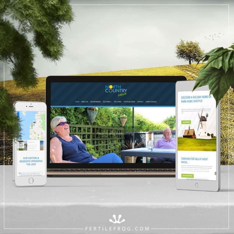 Holiday Park Website Build