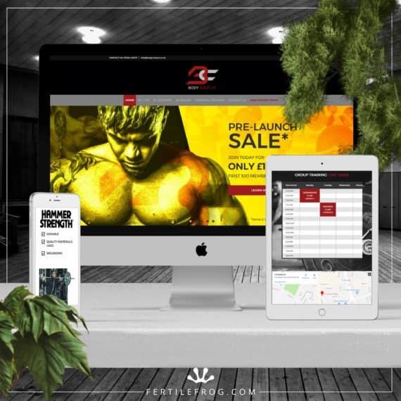 Gym Website Build