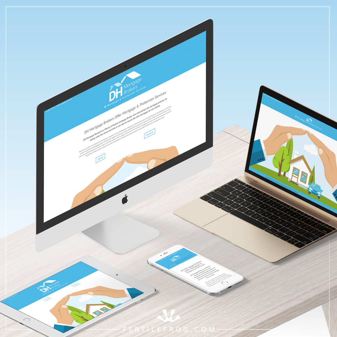 Mortgage Brokers Website Holding Page