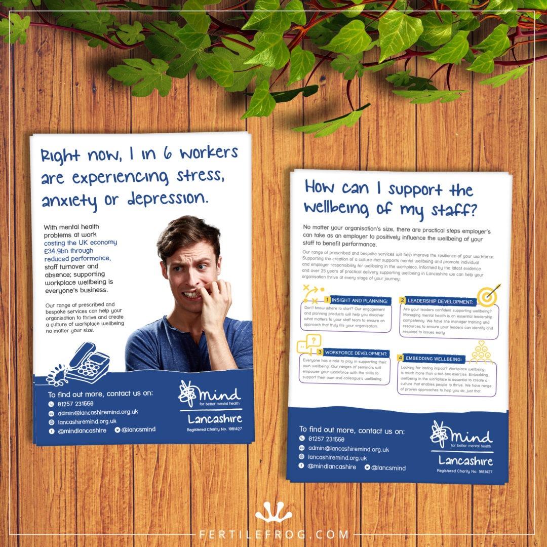 Mental Health Charity Leaflets