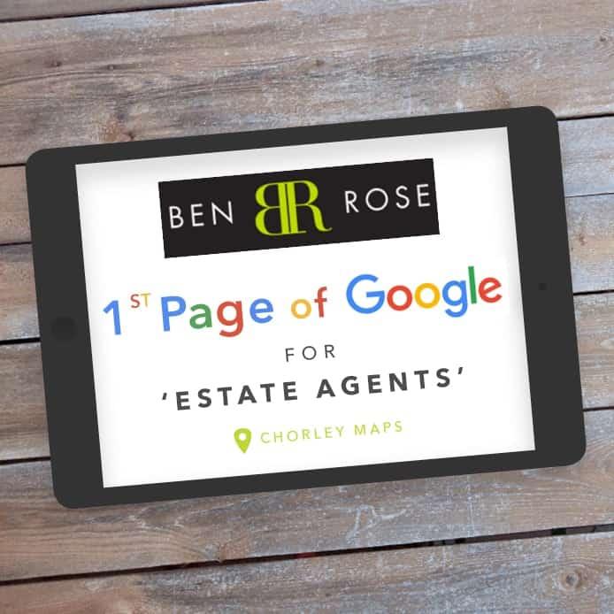 Ben Rose 1st Page of Google