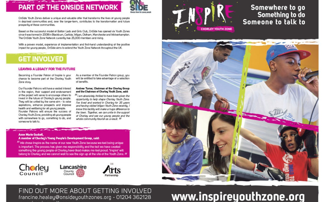 Youth Charity Printed Brochure