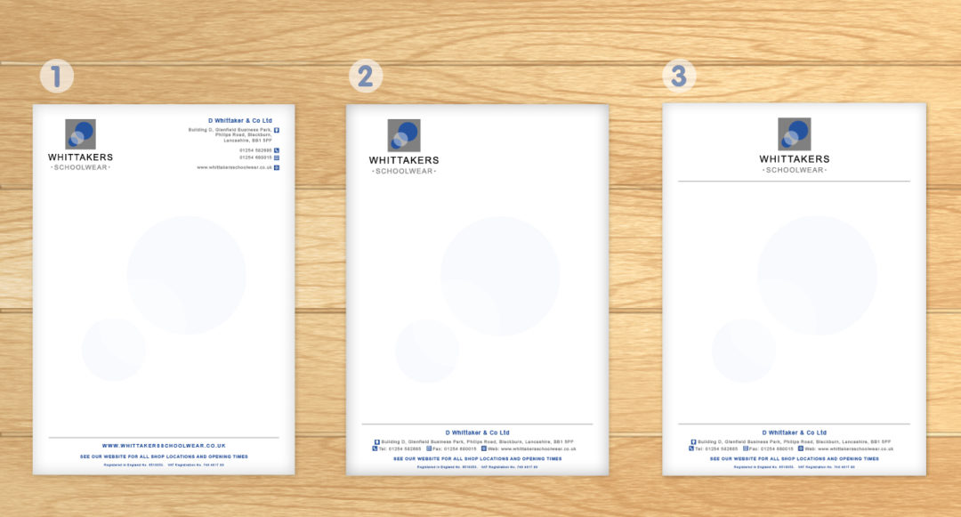 Clothing Supplier Letterhead