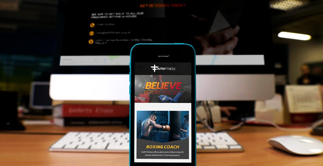 Fitness Website Build