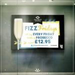 Pub banner showing Fizz Friday
