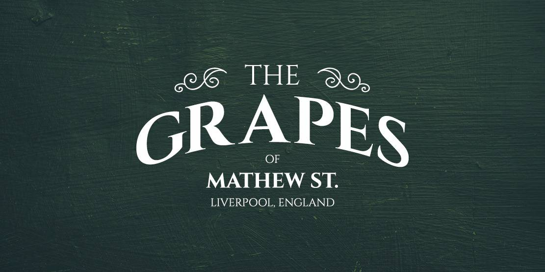 The Grapes Matthew Street Liverpool logo