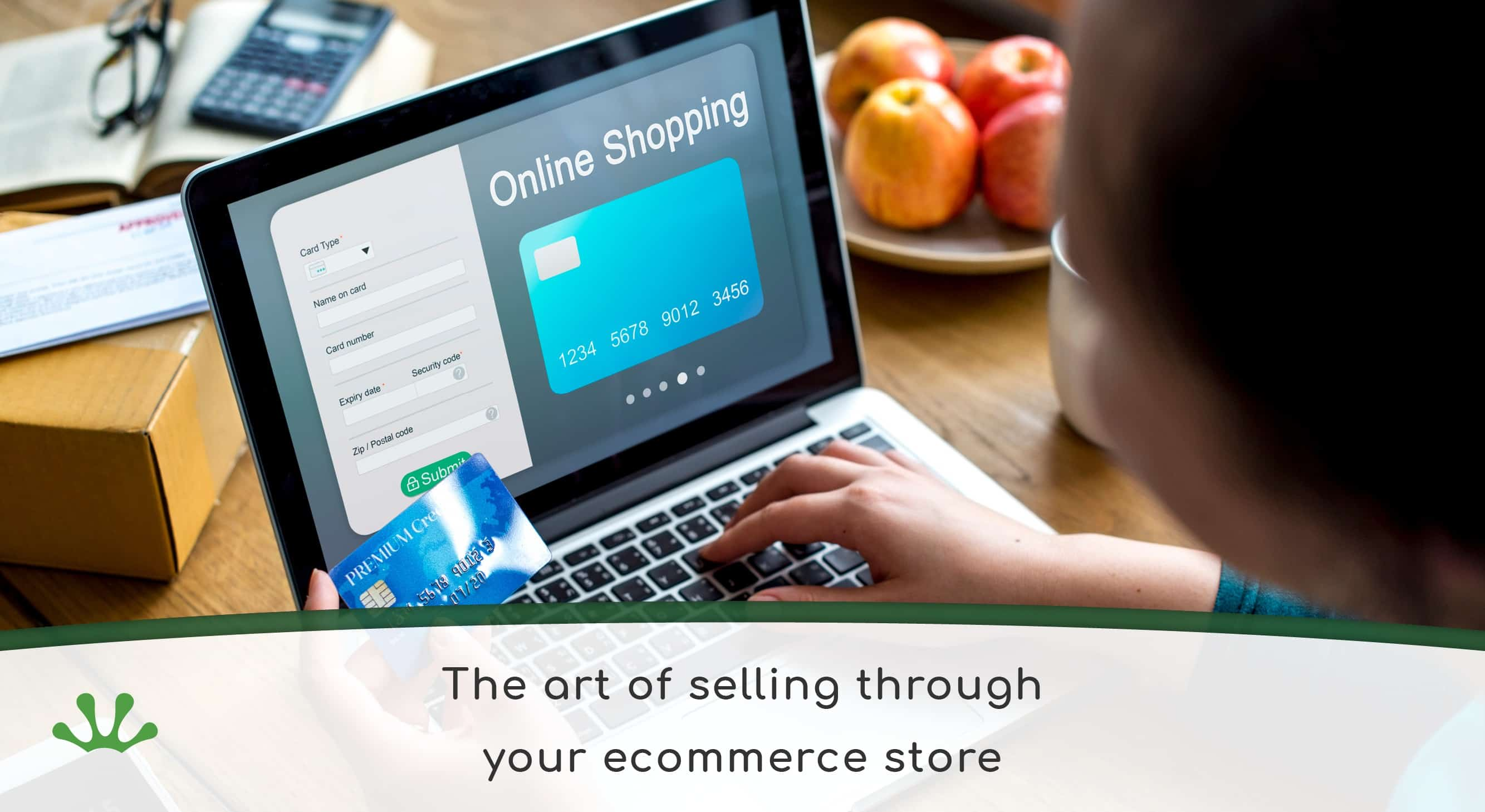 The art of selling online banner