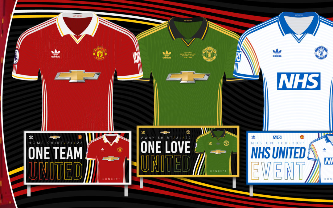 MUFC Fans Shocked by Leaked Shirt, New Concept OUT with NHS Event