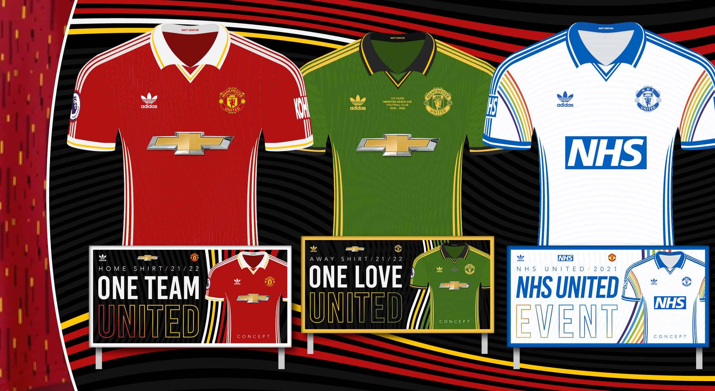 Manchester United new concept kit