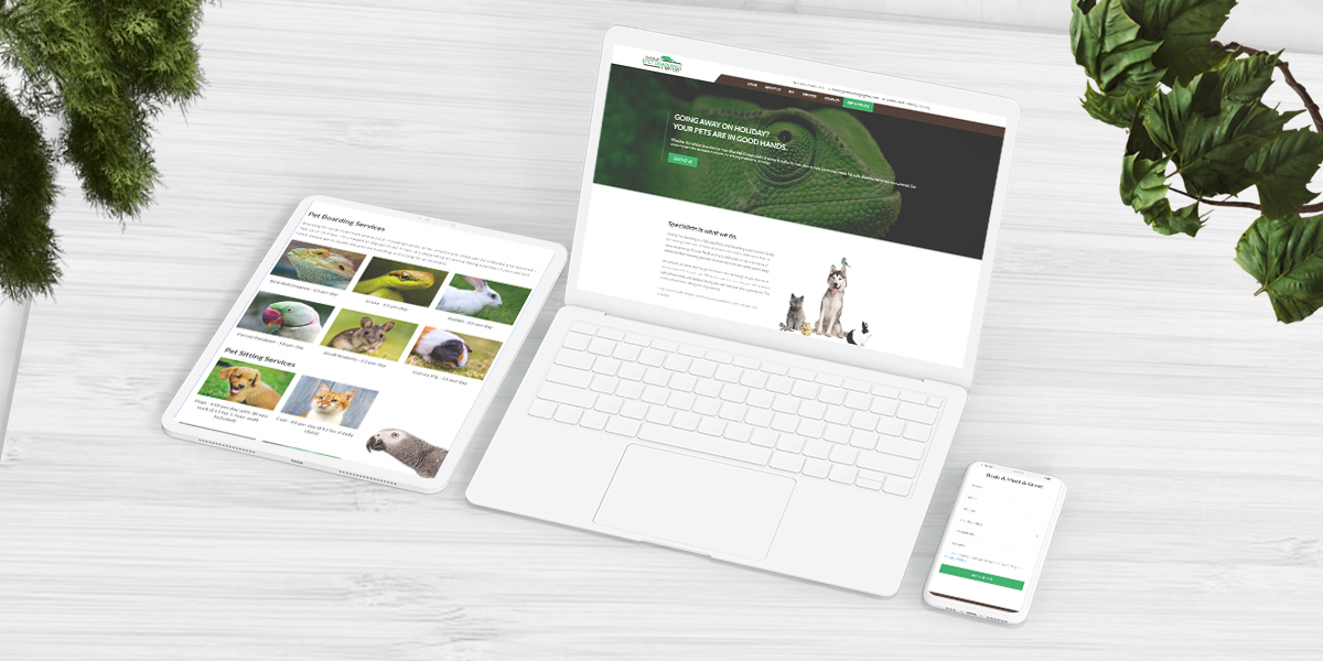 Pet Boarding and Services Website Build main image