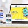 Smartphone Quiz website build main portfolio image