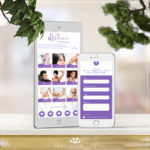 Wysteria Beauty Salon Website Build on phone and tablet