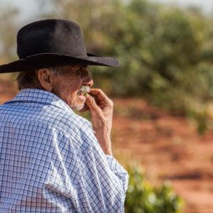 Local farmer portrait